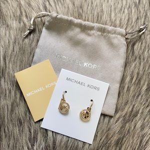 ✨Michael Kors Gold Drop Earrings
